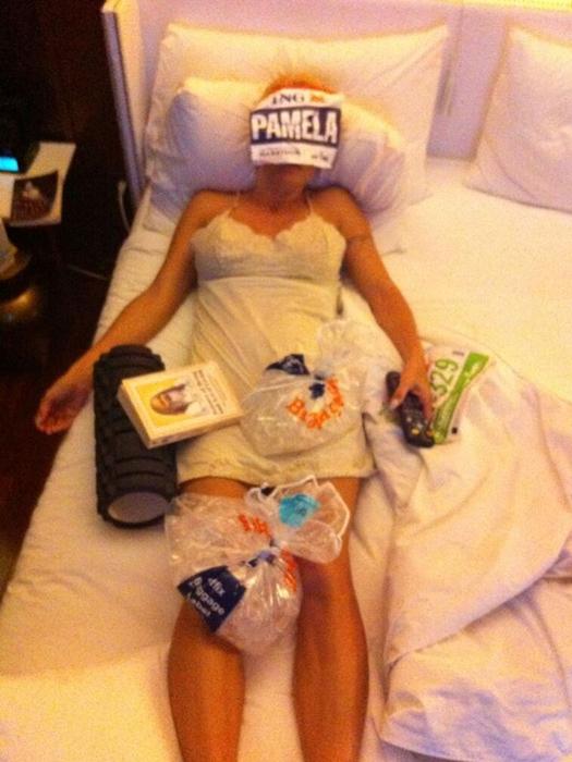 我的十大外國名人跑步女神 7Pamela Anderson