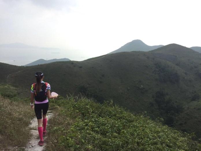 因為練習,多走了許多平常不會走的山線,重新認識香港郊野之美。