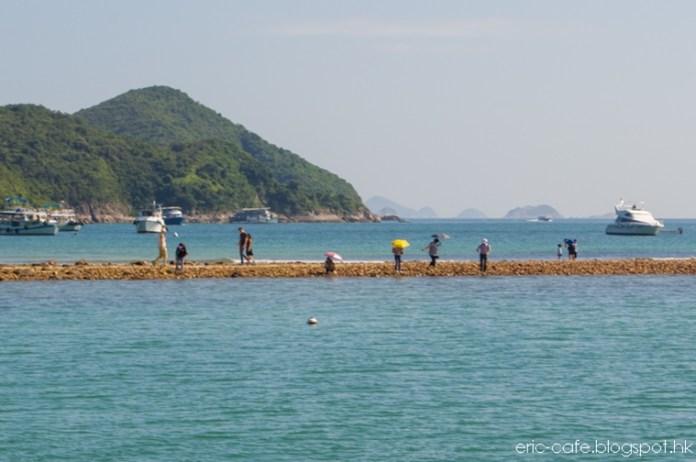 自碼頭遠眺連島沙洲