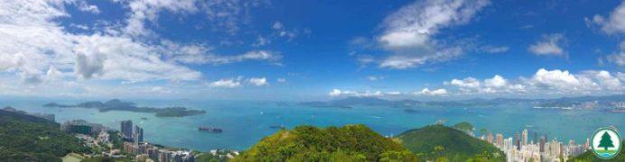 香港島 西高山觀景台 日出日落 3