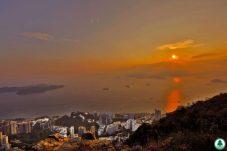 香港島 西高山觀景台 日出日落 7