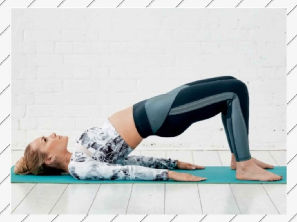 Bridge Pose to fix bloating Stomach - FITZABOUT