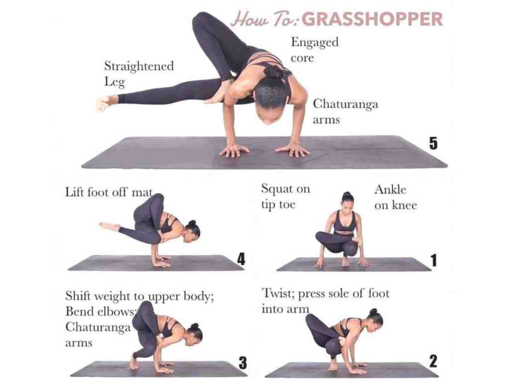 Grasshopper Pose Step By Step Instructions And Benefits Fitzabout