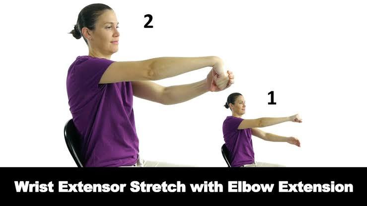 Wrist extensor stretch - FITZABOUT