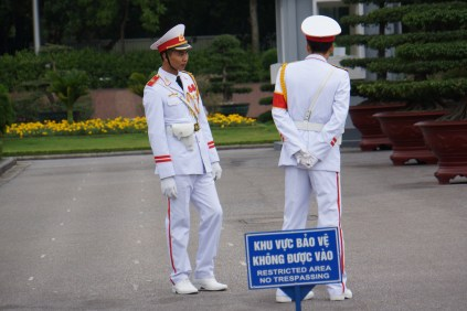Parliament Building Guards, Hanoi