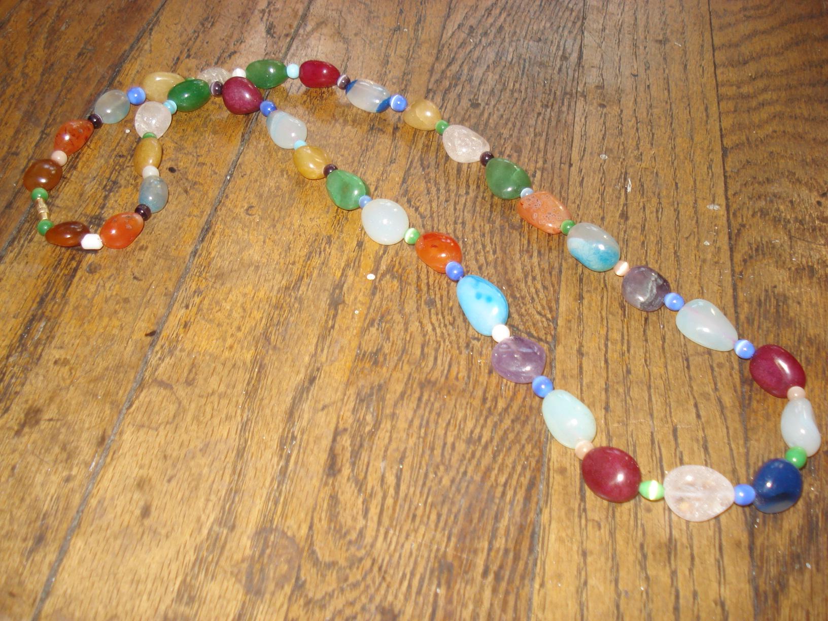 glass beads restrung