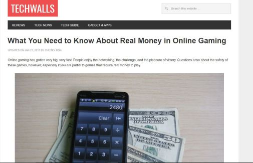 SEO Blogging Article - online money