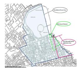 Portland Village Association Map - East Marylebone Fitzrovia Forum