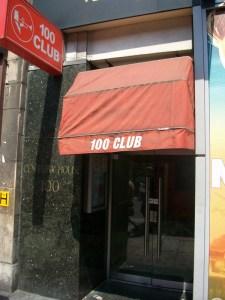 Door way of club.