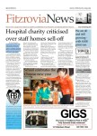 Front page of Fitzrovia News.