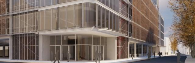 Artist's impression of new hospital.