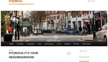 Screenshot of website.