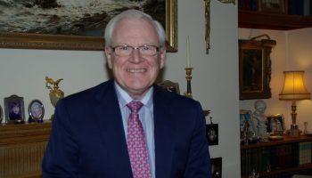 Rodney J Croft pictured at home.