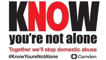 Know you´re not alone placard.