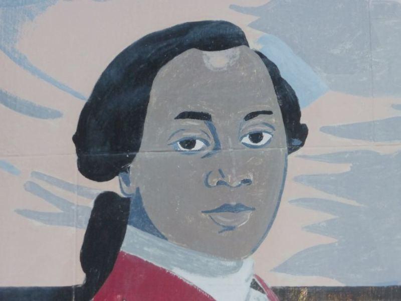 Painting of Olaudah Equiano.