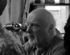 Mike Pentelow in pub.