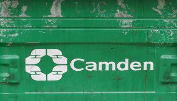 Camden green bin.