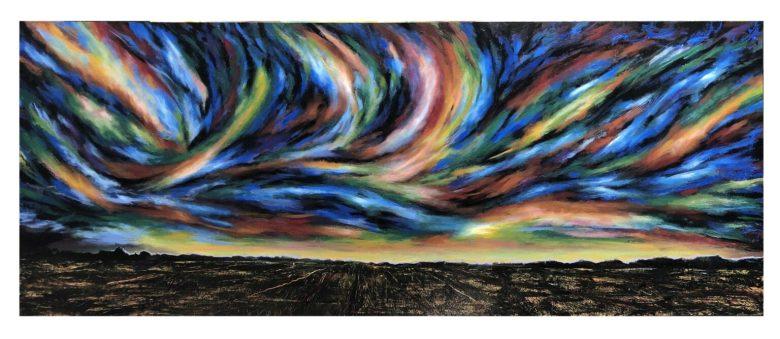 Painting by Rafael 'Randy' Klein, at Zari Gallery. Art.