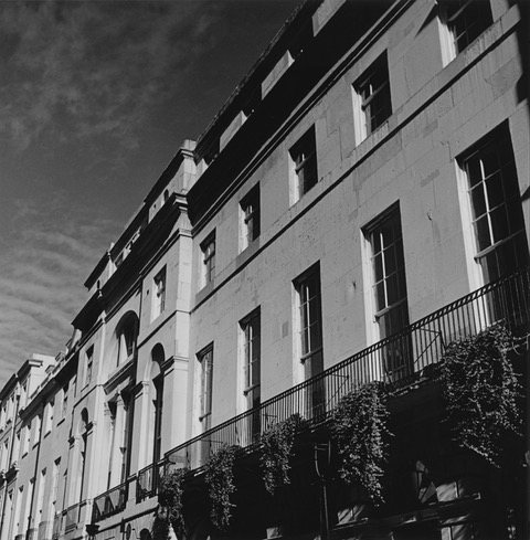 Facade of southern side of Fitzroy Square.