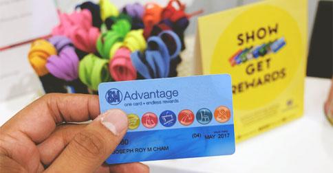 On SM Advantage, Suki Card, Laking National, and Loyalty Cards