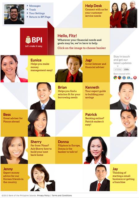 BPI Bankers Online on Bankers