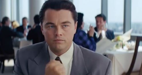 wolf of wall street chant