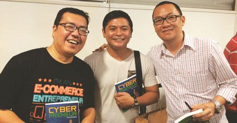 With co-authorsm RM Nisperos and Marv de Leon