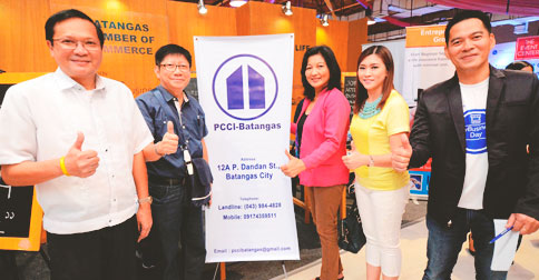 Representatives from the Philippine Chamber of Commerce and Industry in Batangas were also present.