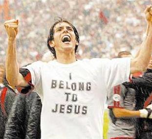 La maglietta di Kakà - I belong to Jesus