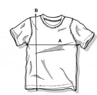 Misure T-Shirt