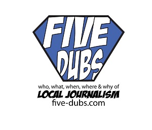 Logo for Five Dubs Podcast