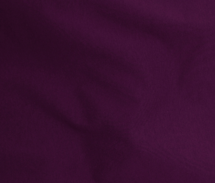 Plum Organic Cotton Spandex Knit
