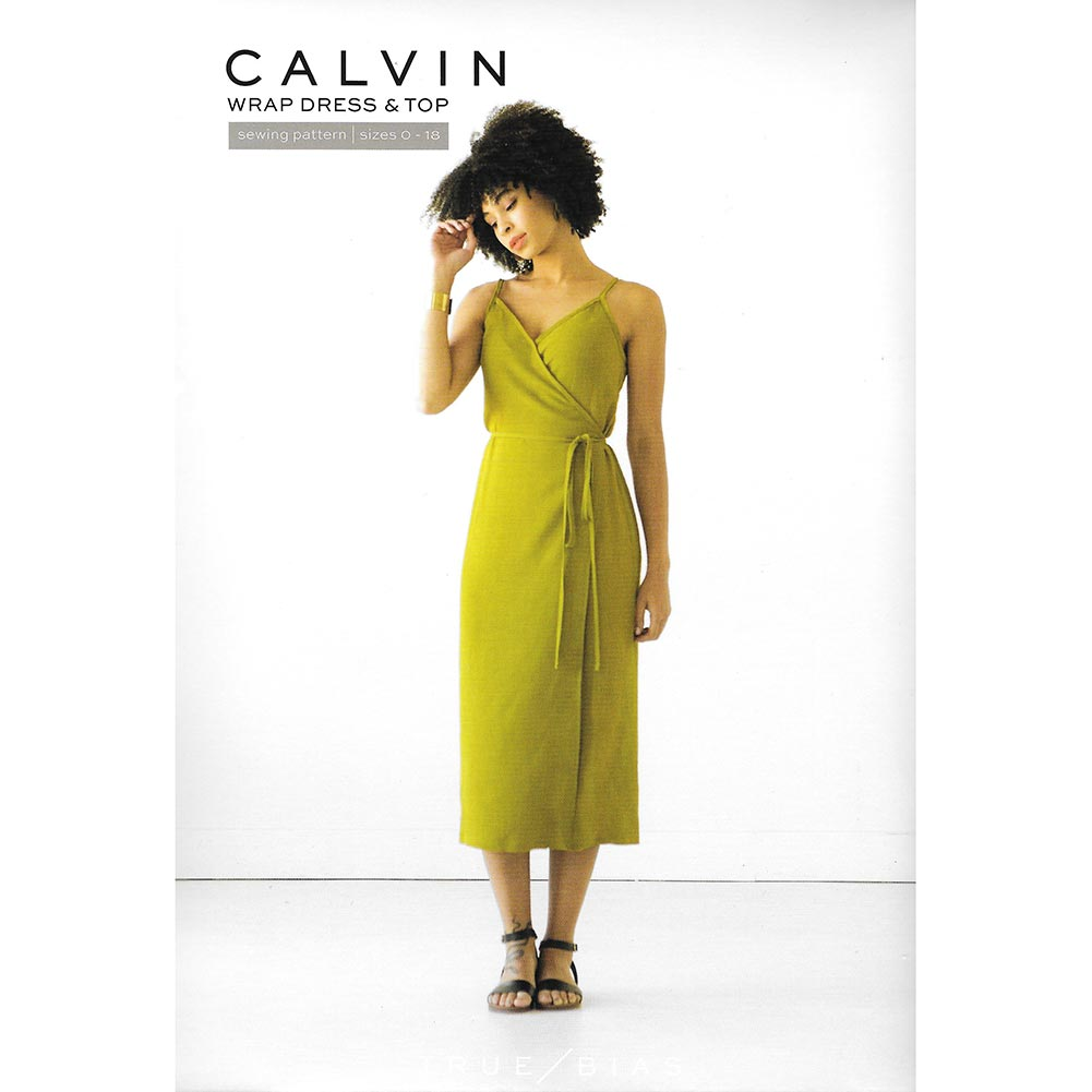 True Bias <br>Calvin Wrap Dress/Top
