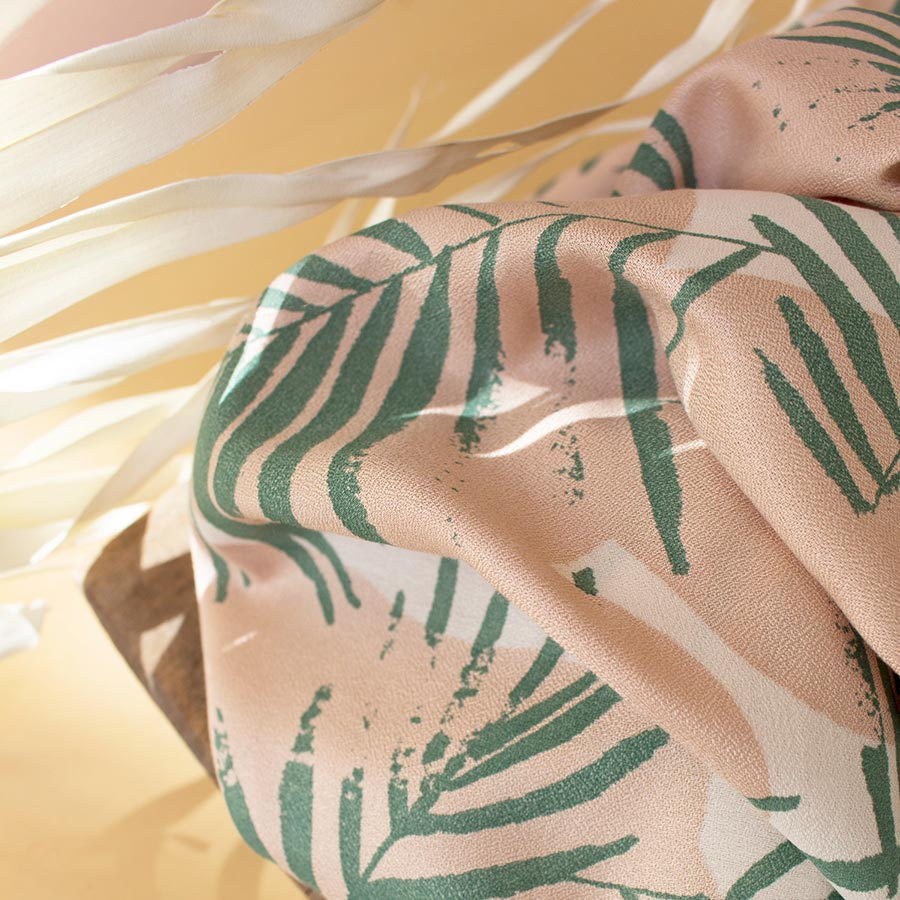 Atelier Brunette <br>Canopy Cactus Viscose Crepe