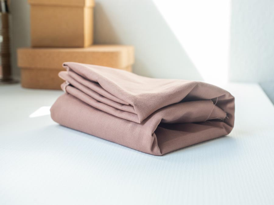 Mind the Maker <br>Washed Cotton Twill, 9oz — Dusty Rose <br>SGS certified