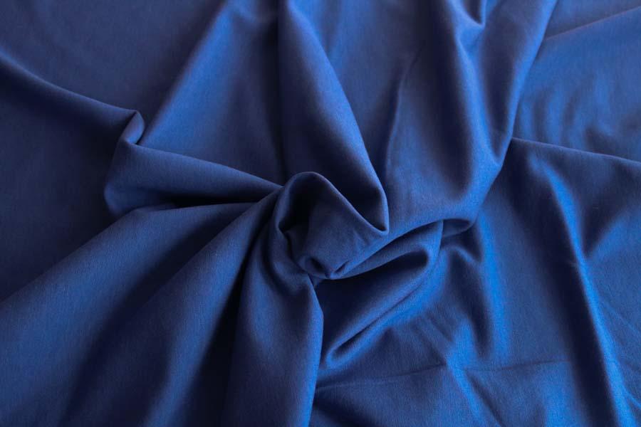 Bamboo Cotton Stretch Fleece -- Twilight