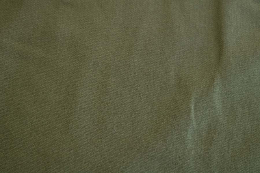 Organic Cotton Brushed Twill -- Olive