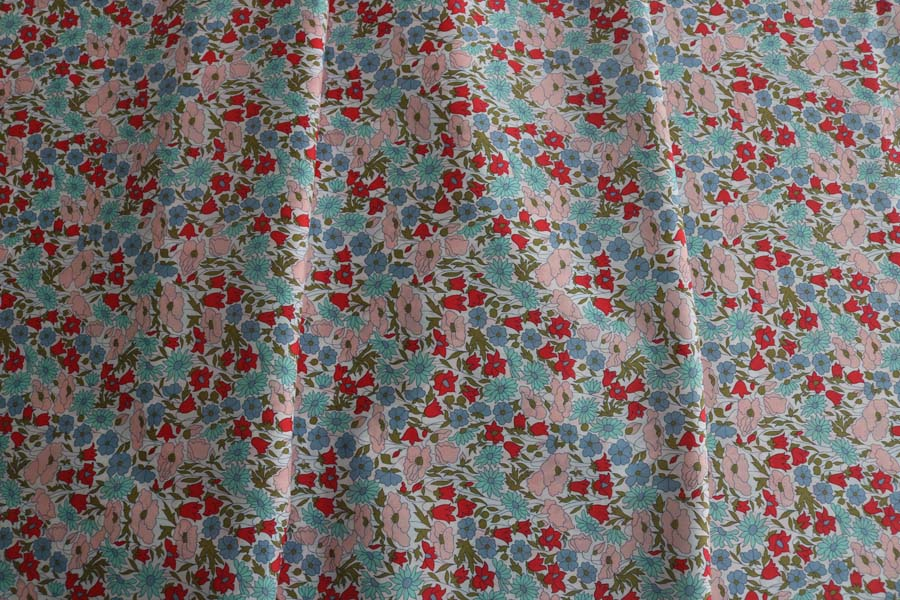 Liberty Tana Lawn - Poppy and Daisy A