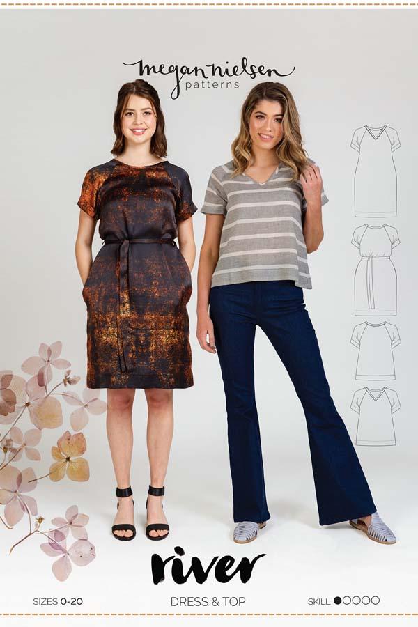Megan Nielsen River Dress & Top