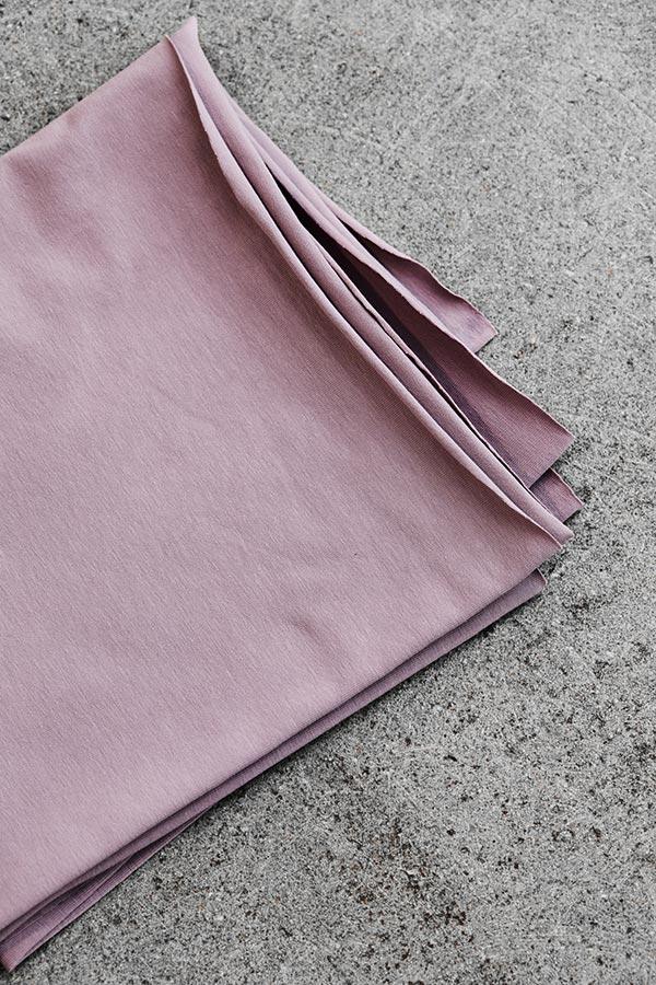Mind the Maker Organic Single Stretch Jersey -- Lilac