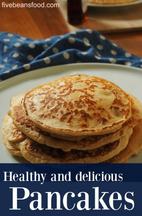 These pancakes are delicious, simple to make, and healthier than a regular pancake recipe