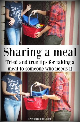 Tried and true tips for sharing a meal with someone who needs it