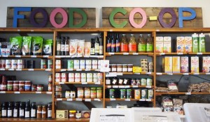 packaged goods at the food coop