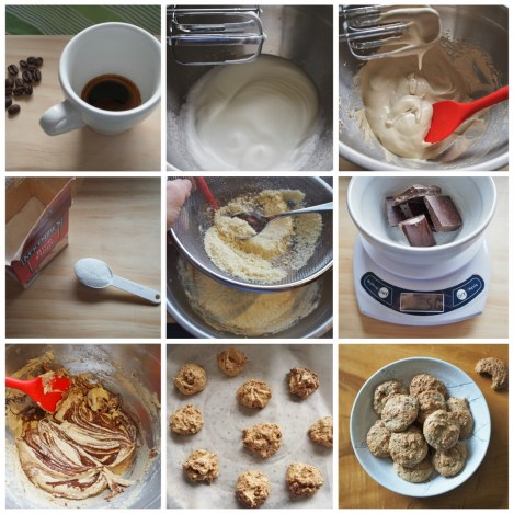 How to make coffee and chocolate almond biscuits (1278x1280)