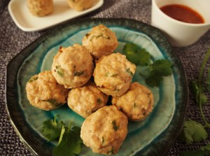 these-thai-style-chicken-meatballs-are-a-simple-and tasty treat for a party or just for dinner