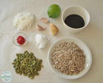 Ingredients for a nut free satay sauce, Indonesian style, which is as good or better than the peanut version
