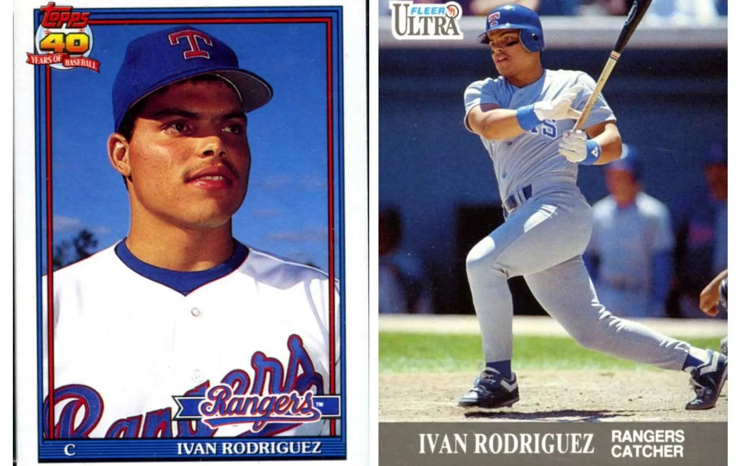 Hall Of Fame Effect How Much Are Ivan Rodriguez Cards Worth Now