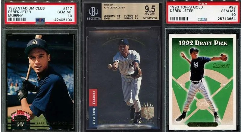 Derek Jeter And His Top 3 Rookie Cards Fivecardguys