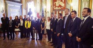 Bucci presenta la Giunta che governerà Genova per i prossimi cinque anni