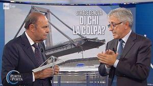Bruno Vespa e Giovanni Castellucci